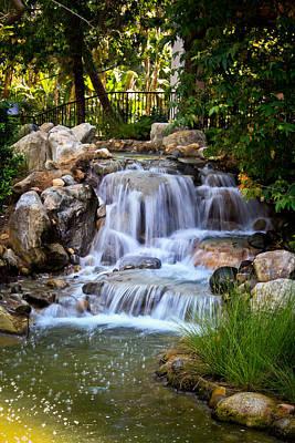 Photograph - Waterfall by Kathy Nairn