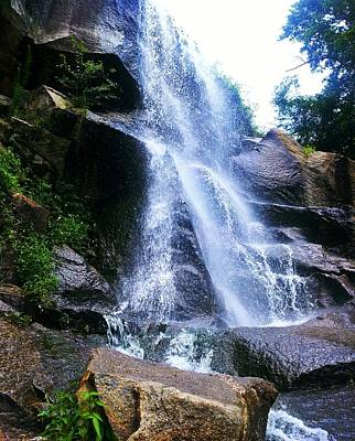 Photograph - Waterfall  by Kiara Reynolds