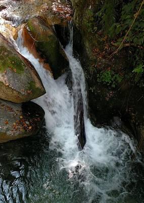 Photograph - Waterfall At Sangam Chatti - Himlayas India by Kim Bemis