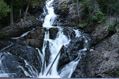 Photograph - Waterfall Kinsmen Park by Paula Brown