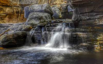 Photograph - Waterfall by Marianna Mills