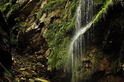 Photograph - Waterfall by Mariusz Zawadzki
