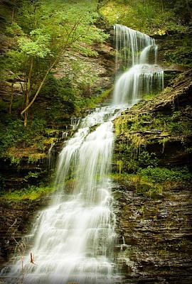 Photograph - Waterfall by Mike Lanzetta