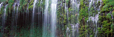Waterfall, Mossbrae Falls, Sacramento Art Print by Panoramic Images