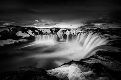 Seascape. Winter Photograph - Waterfall Of The Gods by Alfonso Maseda Varela