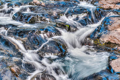 Art Print featuring the photograph Waterfall On Mt. Rainier by Chris McKenna