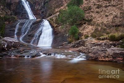 Maciej B. Markiewicz Photograph - Waterfall On The Isle Of Skye by Maciej Markiewicz