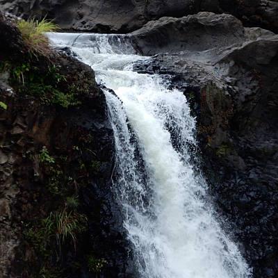 Photograph - Waterfall by Pamela Walton