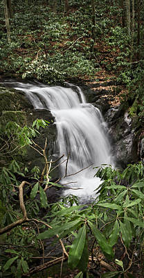 Photograph - Waterfall Panorama by Debra and Dave Vanderlaan