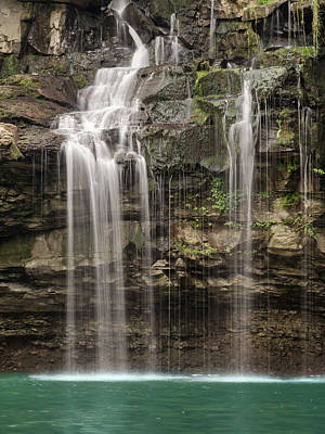 Photograph - Waterfall Paradise 04 by Cindy Haggerty