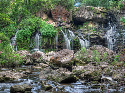 Photograph - Waterfall Paradise 06 by Cindy Haggerty