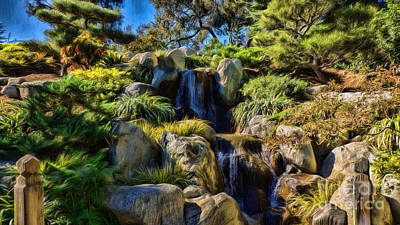 Photograph - Waterfall by Peggy Hughes