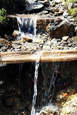 Waterfall Steps Art Print