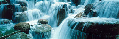 Temecula Photograph - Waterfall Temecula Ca Usa by Panoramic Images