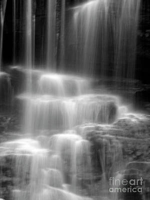 Waterfall Art Print by Tony Cordoza