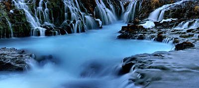 Water Filter Photograph - Waterfall Wonderland by Mike Berenson