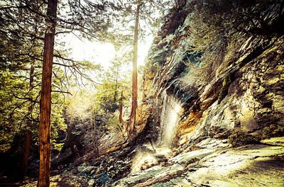 Waterfallin Art Print by Justin Osmer