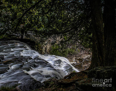 Photograph - Waterfalls 3 by Ronald Grogan