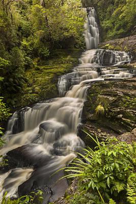 Waterfalls After Rain Mcleans Falls Art Print