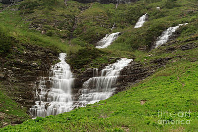 Photograph - Waterfalls Galore by Charles Kozierok