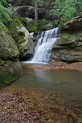Photograph - Waterfalls In Hocking Hills by Dale Kincaid