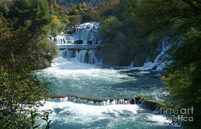 Photograph - Waterfalls - Krka National Park - Croatia by Phil Banks