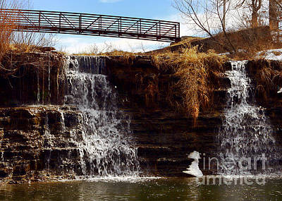 Photograph - Waterfalls by Lawrence Burry