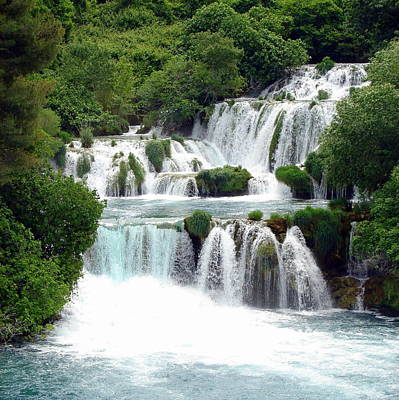 Waterfalls Of Plitvice Art Print