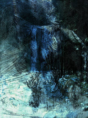 Digital Art - Waterfalls Of The Forgotten by Jean Moore