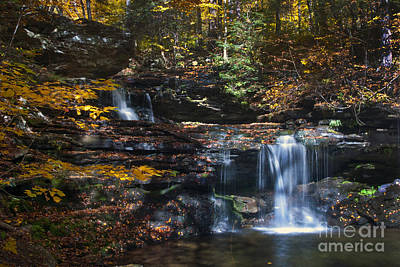 Photograph - Waterfalls by Paul W Faust -  Impressions of Light