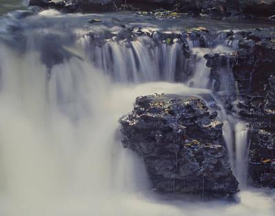 Photograph - Waterflow by David and Carol Kelly