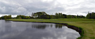 Photograph - Waterford Castle Golf Course. by Terence Davis