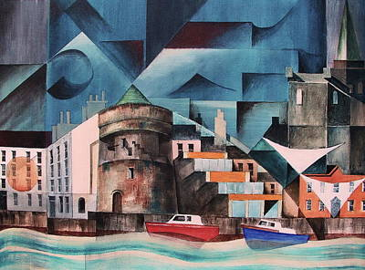 Waterford Quays Art Print