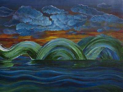 Painting - Waterforms by Siyavush Mammadov