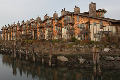 Photograph - Waterfront Apartments by Gordon  Grimwade