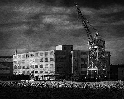 Photograph - Waterfront Building by Timothy Bulone