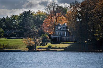 Photograph - Waterfront Cottage by Patrick Boening