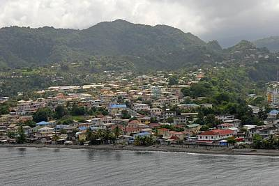 Photograph - Waterfront Homes In Dominica  by Willie Harper