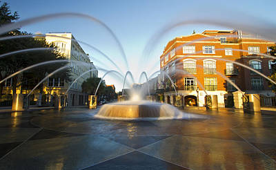 Photograph - Waterfront Park Fountain Charleston by Pierre Leclerc Photography