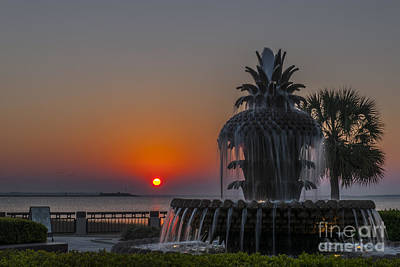 Photograph - Waterfront Park Sunrise by Dale Powell