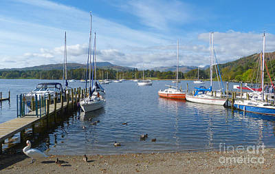 Photograph - Waterhead - Ambleside - English Lake District by Phil Banks