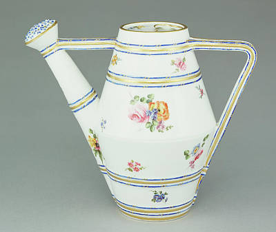 Vincennes Painting - Watering Can Arrosoir, Deuxième Grandeur Painted by Litz Collection