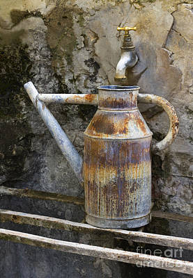 Photograph - Watering Can by John Shaw