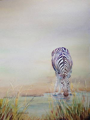 Painting - Watering Hole by Cynthia Roudebush