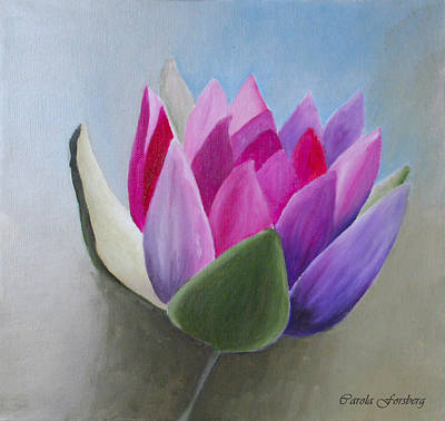 Painting - Waterlily by Carola Ann-Margret Forsberg