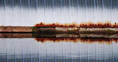 Distressed Photograph - Waterline by Jani Freimann