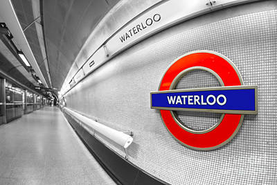 Waterloo Art Print by Evelina Kremsdorf