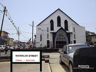 Waterloo Street - Freetown Sierra Leone Original by Mudiama Kammoh