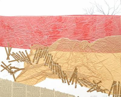 Watermark Mixed Media - Watermarks Shoreline by Lois Nesbitt