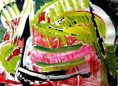 'watermelon' Art Print by Carol Skinner